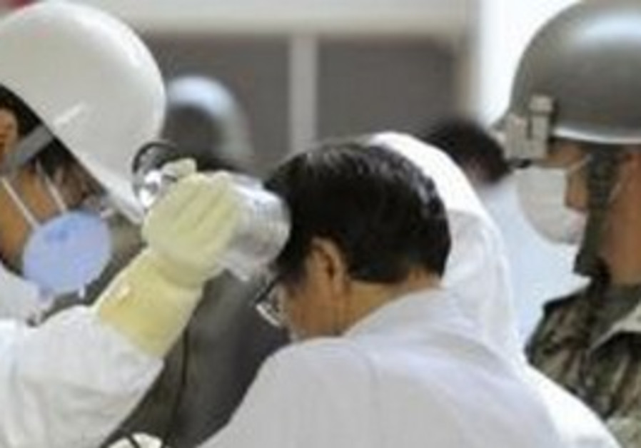 Man evacuated from radiation zone in Japan tested