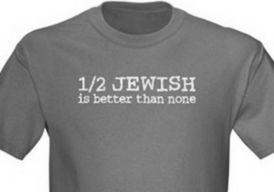 1/2 Jewish T-Shit