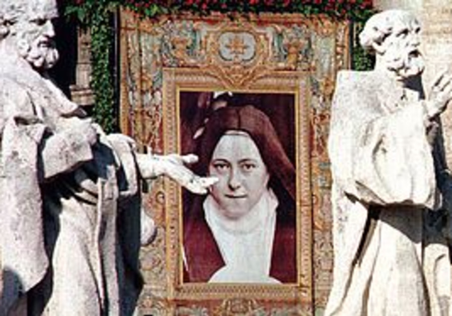 Tapestry of St. Therese