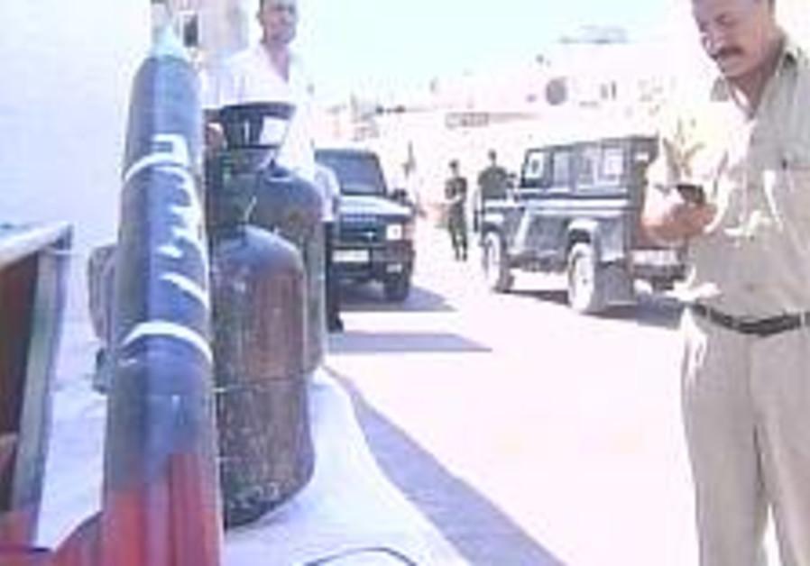 PA transfers rocket materials to Israel