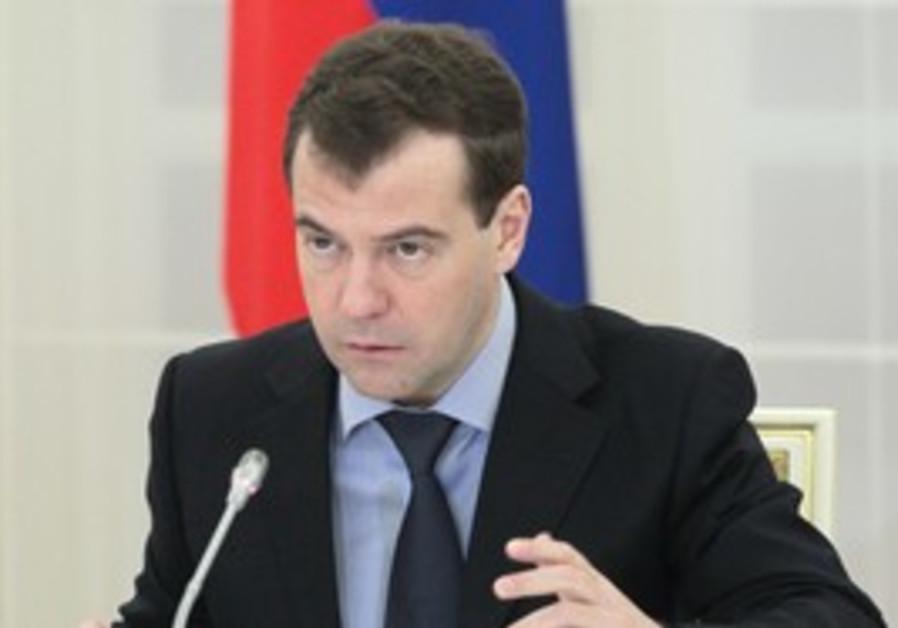 Russia's President Medvedev