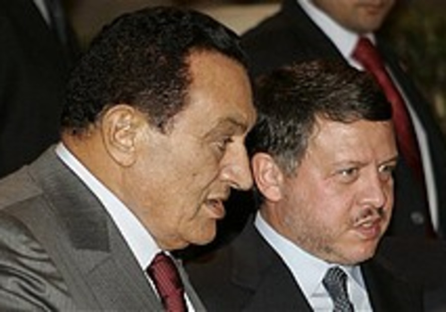 Abdullah, Mubarak appeal to PA factions