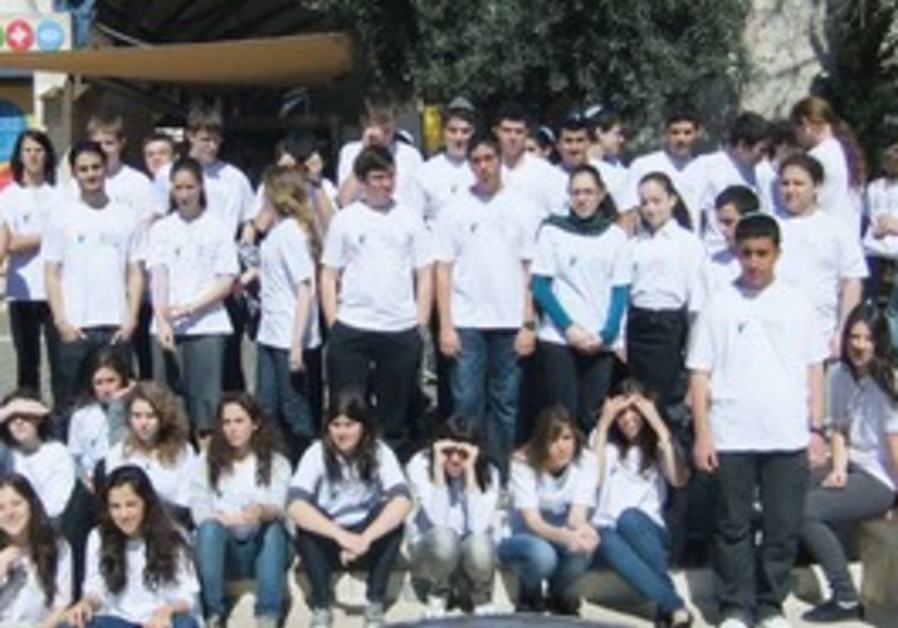 THE FINALISTS in the Intel-Israel Young Scientists
