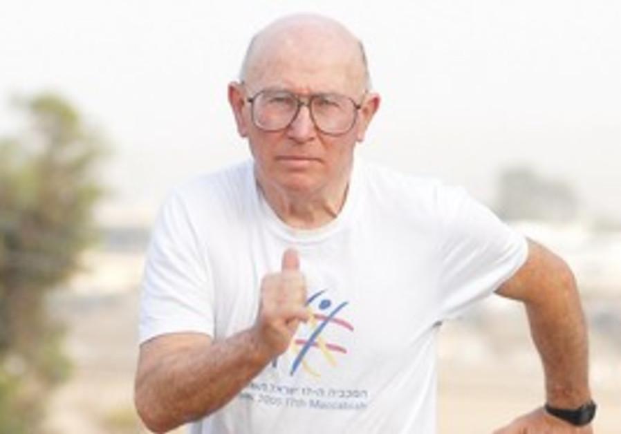 Former Israeli Olympian Shaul Ladany