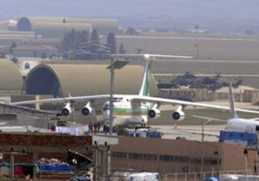 Iranian cargo plane Diyarbakir airport