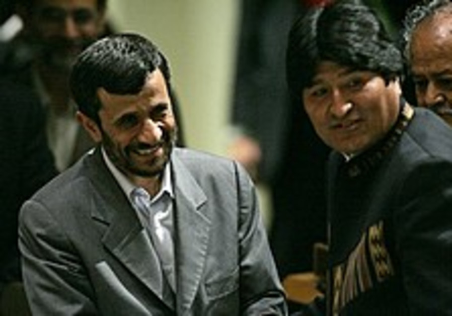 Iran strengthens ties with South America's leftist regimes