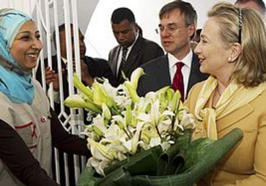 Hillary Clinton in Tunisia