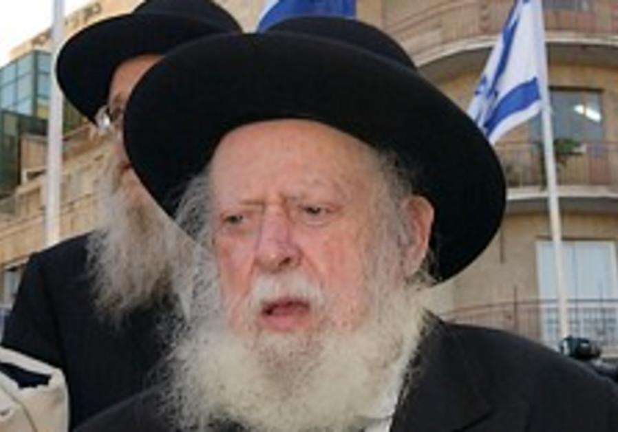 Rabbi Shapira laid to rest in Jerusalem