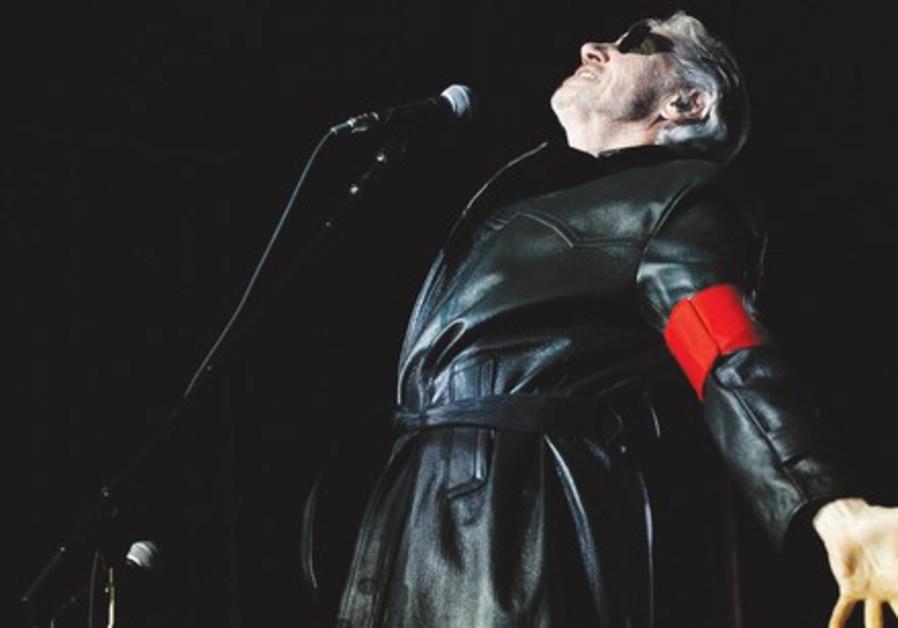 Pink Floyd's Roger Waters performing