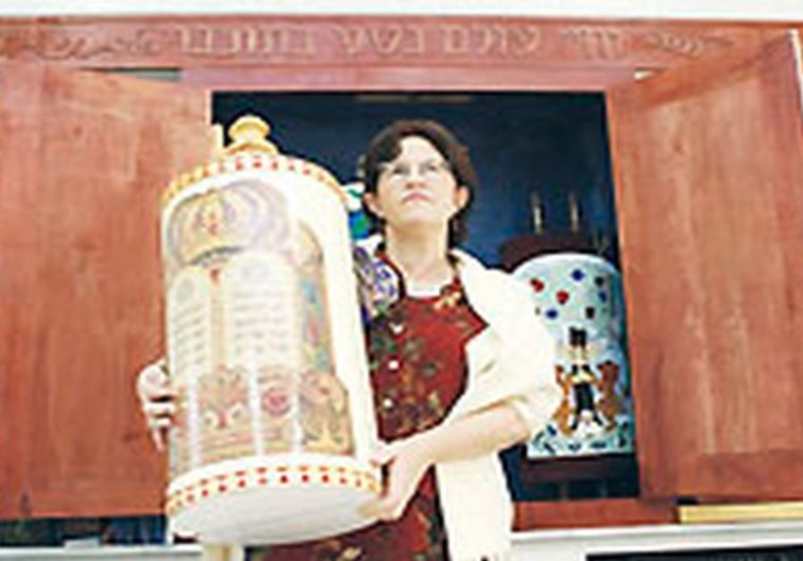 Woman with Torah