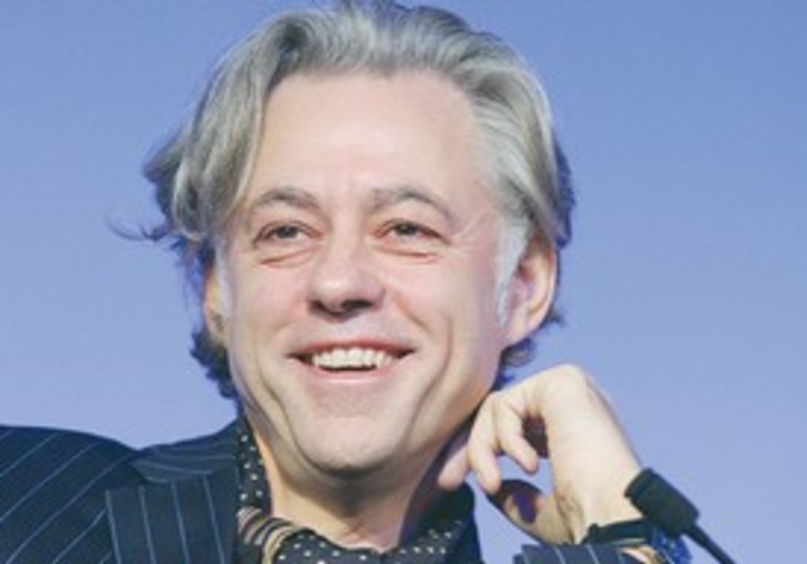 IRISH SINGER and humanitarian Bob Geldof