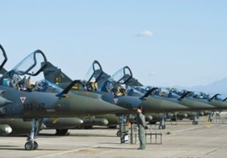 FRENCH AIR Force Mirage 2000 fighter jets