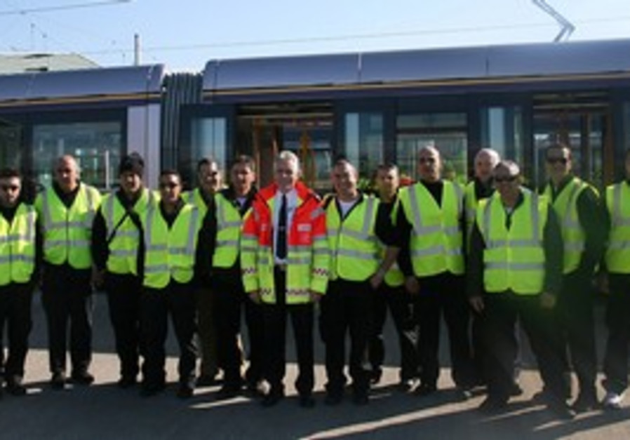 Light Rail firemen
