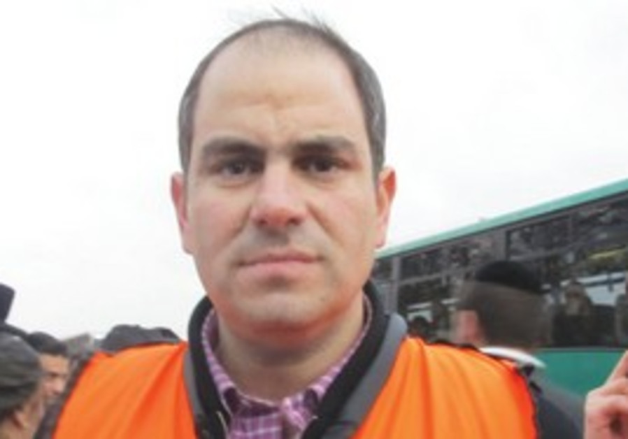 ELI BEER, director and founder of United Hatzalah