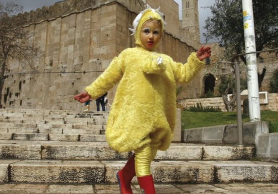 Purim in Hebron