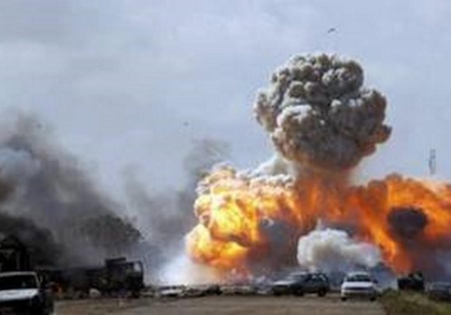 Air stirke on Libya