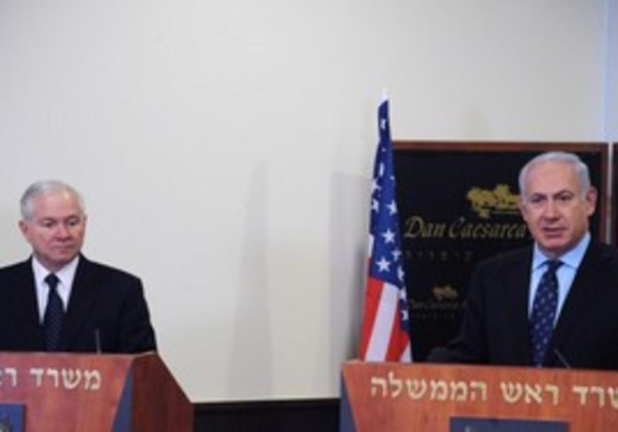 PM Netanyahu meets US Defense Secretary Gates