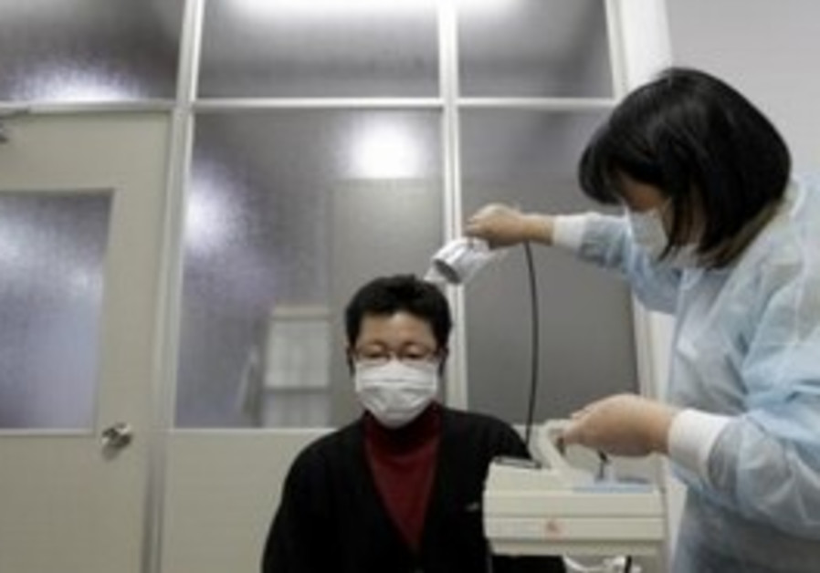 Evacuee from Fukushima tested for radiation