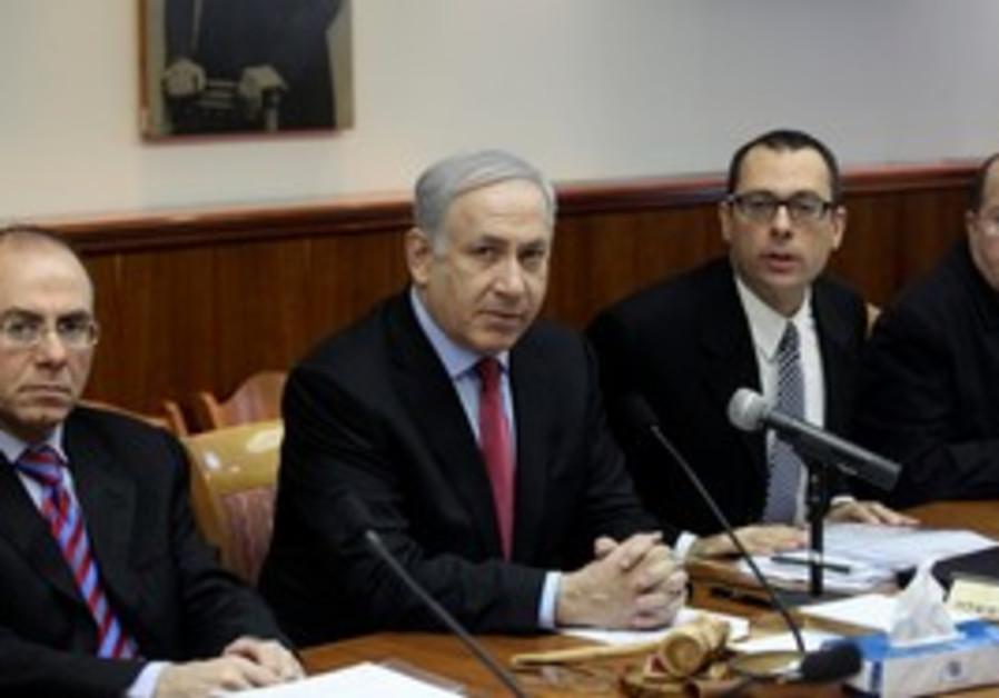 Prime Minister Netanyahu speaks at Cabinet meeting