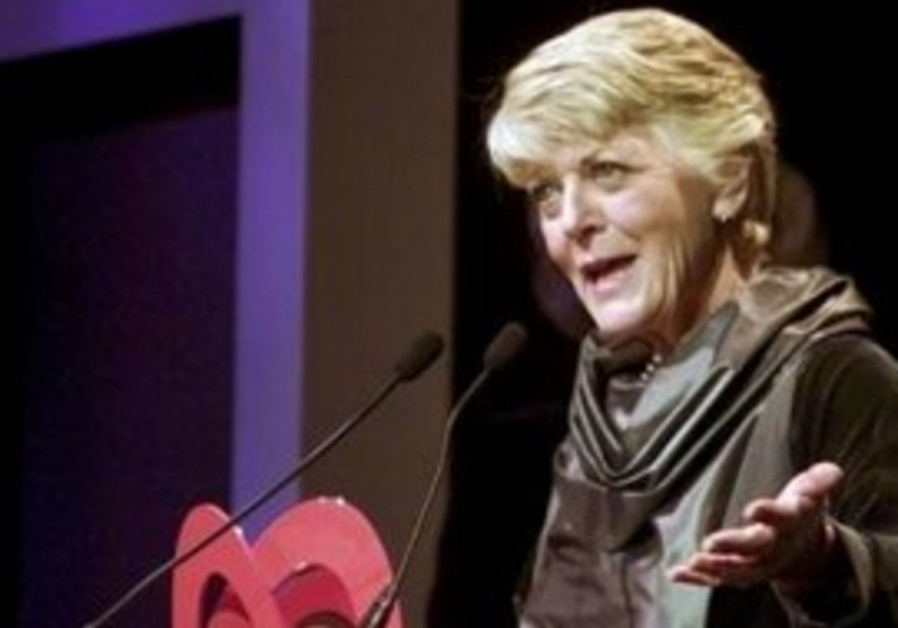Democratic congresswoman Geraldine Ferraro