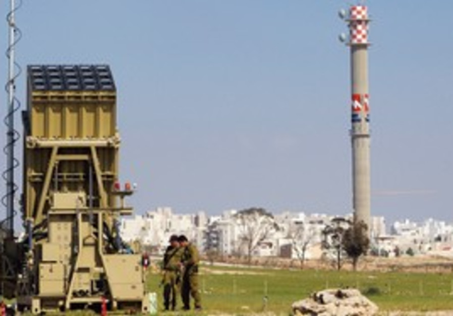 Irone Dome missile defense system near Beersheba