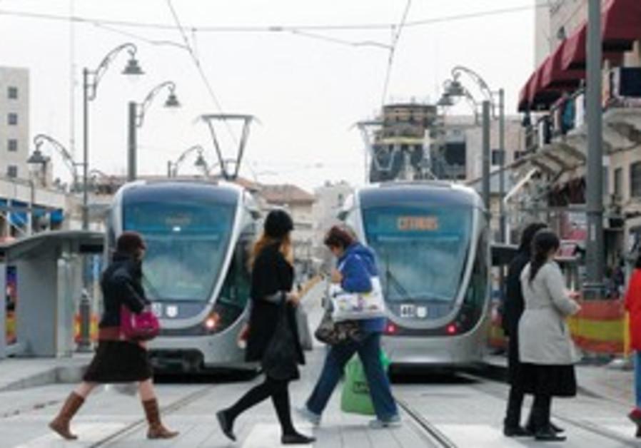 Jerusalem light rail