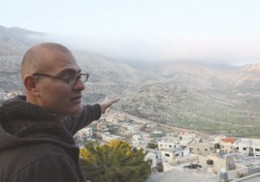 Hamad Awidate, Druse from Majdal Shams