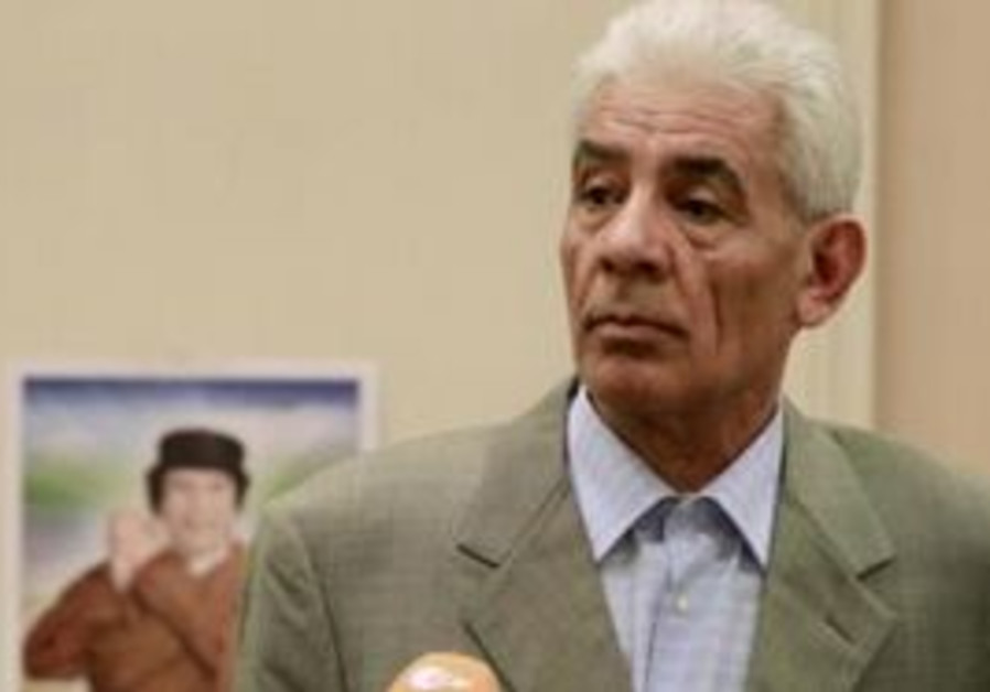 Libya'sForeign Minister Moussa Koussa