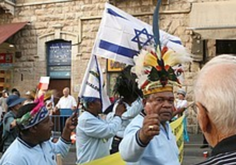 Comment: A classically Zionist, very Israeli march