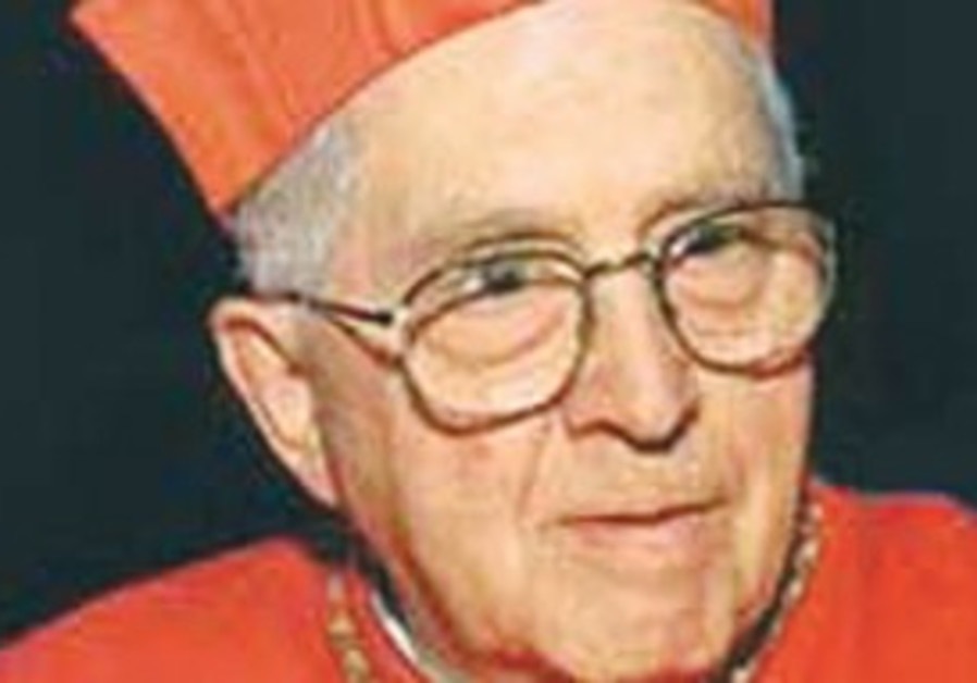Cardinal Jorge Maria Mejìa.