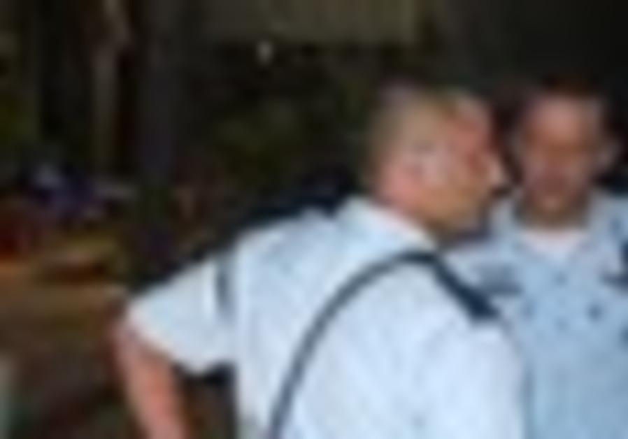 Police at crime scene [illustrative photo]