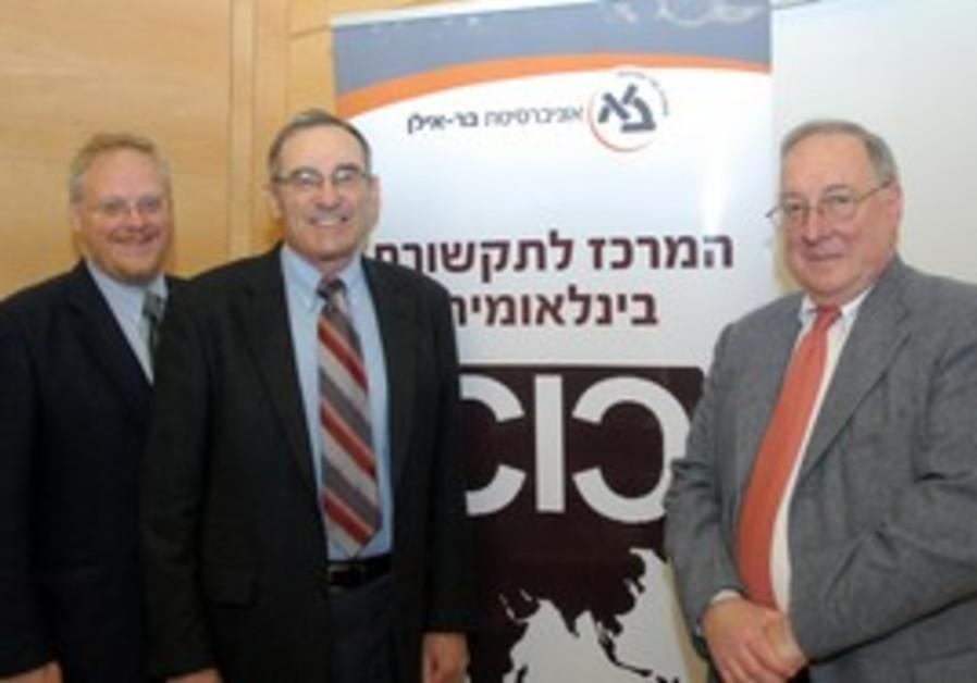 Prof. Nicholas Cull, Prof. Eytan Gilboa, and Prof.
