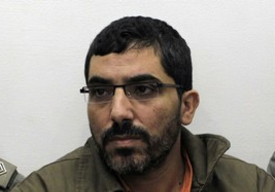 Gazan engineer Abu Sisi in court.