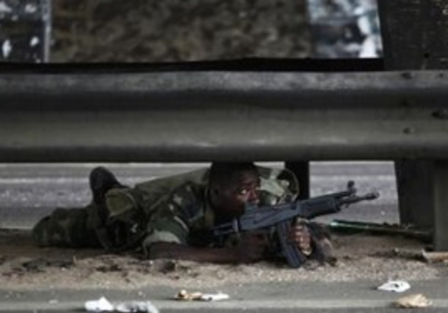 Soldier loyal to Gbagbo in Ivory Coast