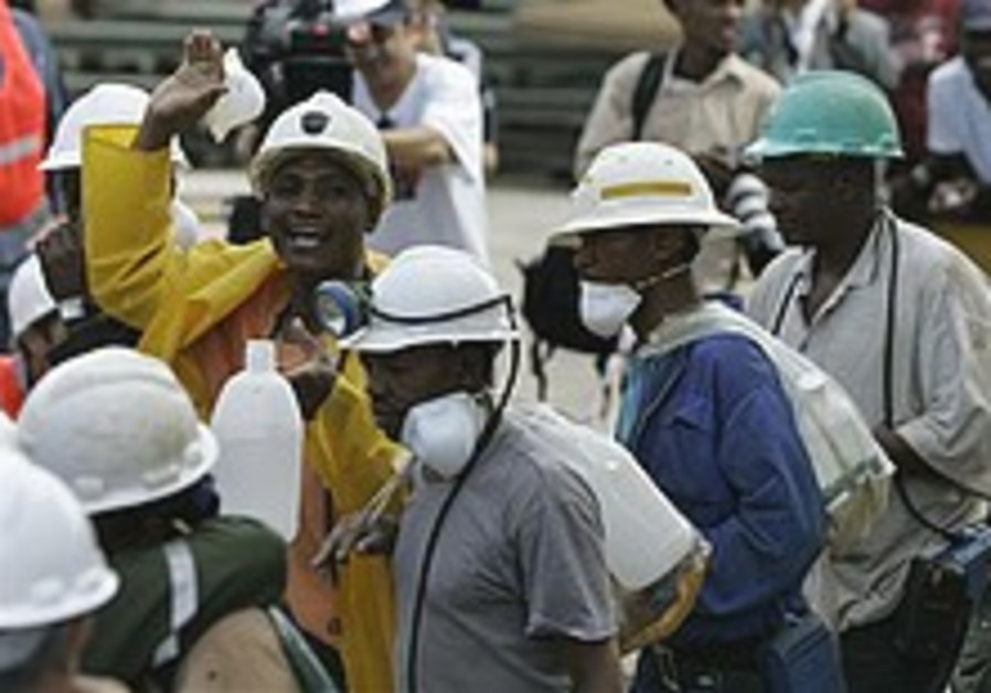 All trapped miners safely rescued in South Africa