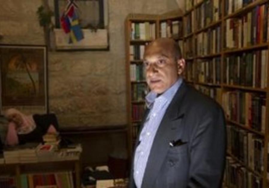 Palestinian bookseller Munther Fahmi
