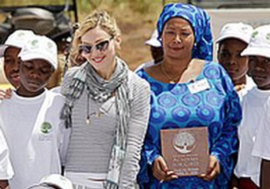 Madonna with Raising Malawi