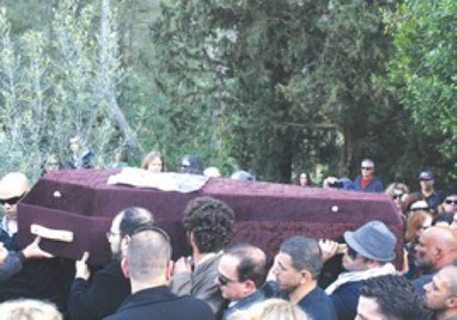 Funeral for Juliano Mer-Khamis