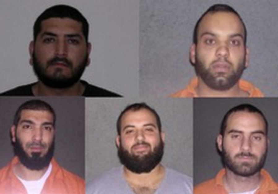 Five members of a Hamas terror cell