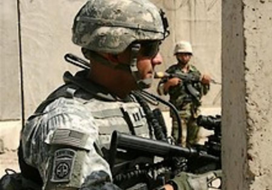 US army kills at least 25 insurgents north of Baghdad