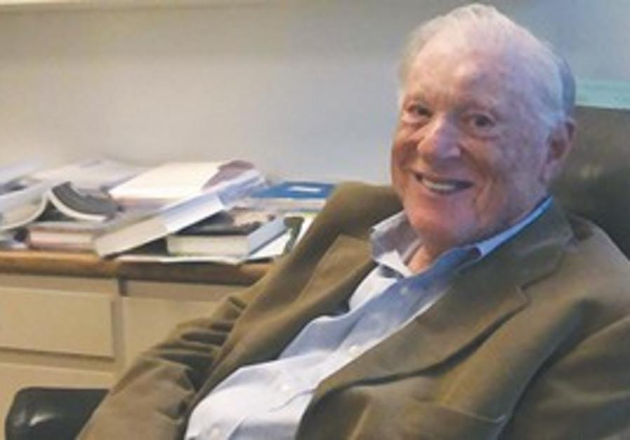 Advancing Human Rights founder Robert Bernstein.