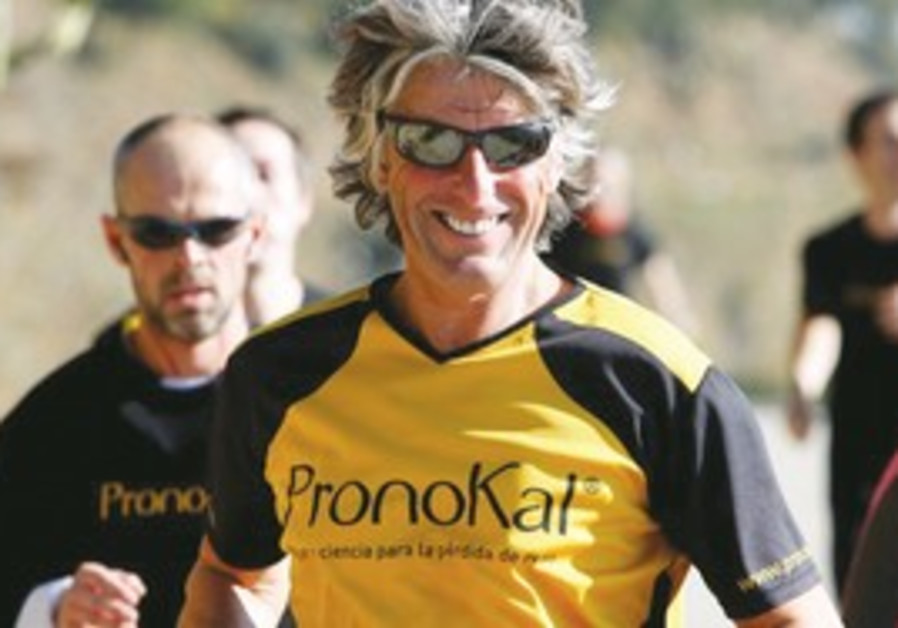 Belgian marathon runner Stefaan Engels.