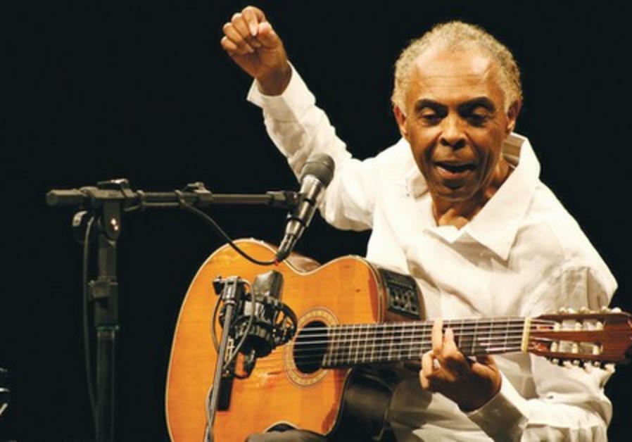 Brazilian musician Gilberto Gil.
