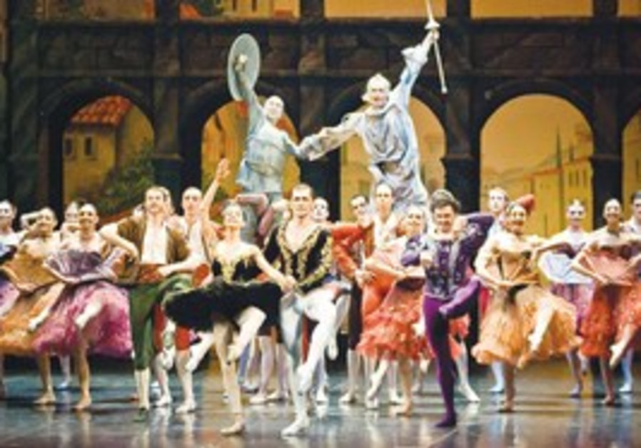 The Boris Eifman Ballet performs Don Quixote.