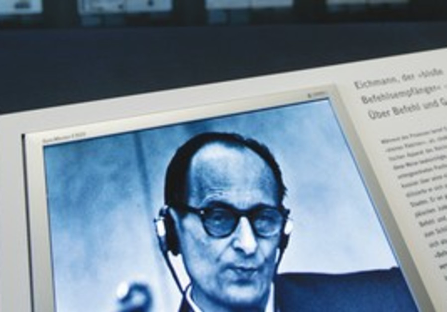 From the exhibition: 'Adolf Eichmann on trial'
