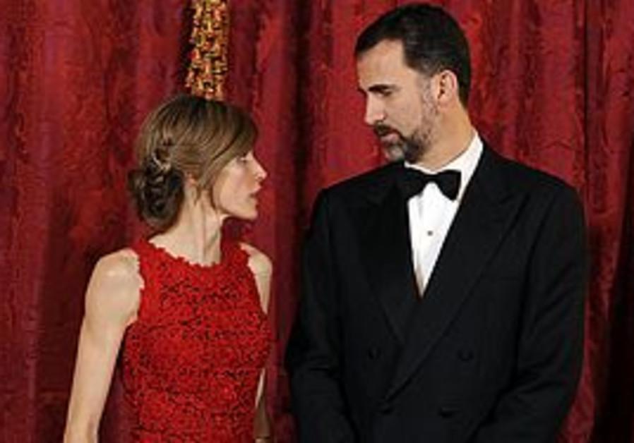 Crown Prince Felipe and Princess Letizia of Spain
