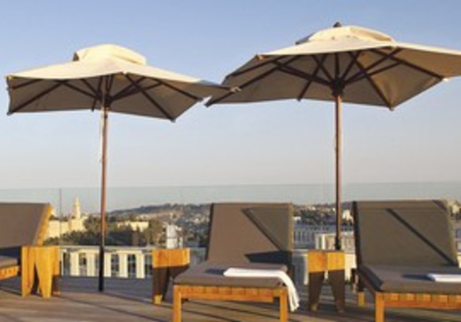New Akasha center at Mamilla Hotel