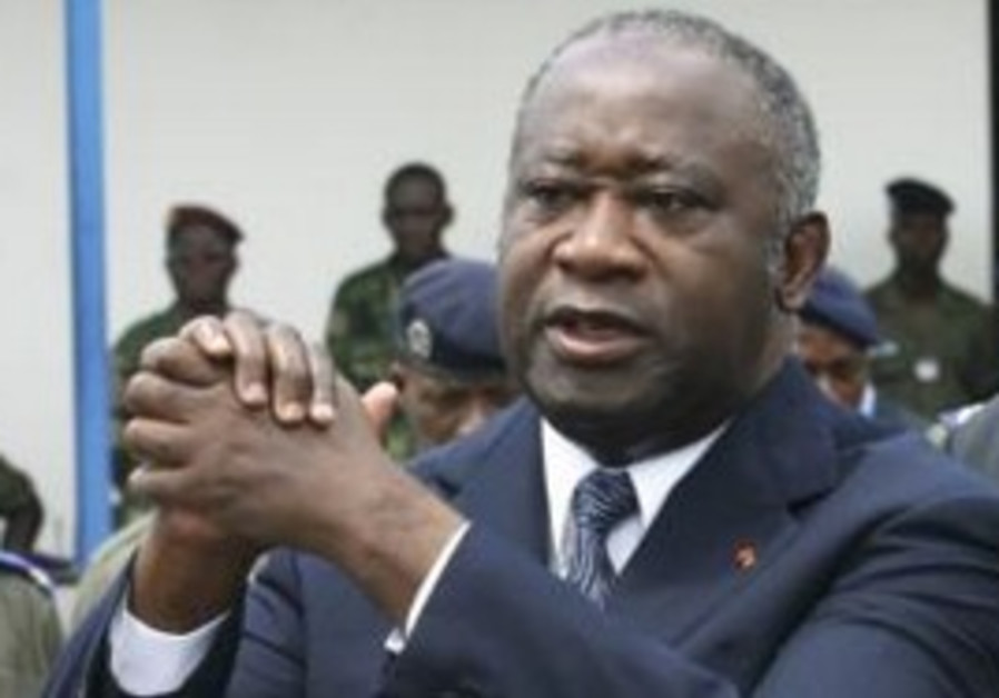 Deposed Ivory Coast leader Laurent Gbagbo