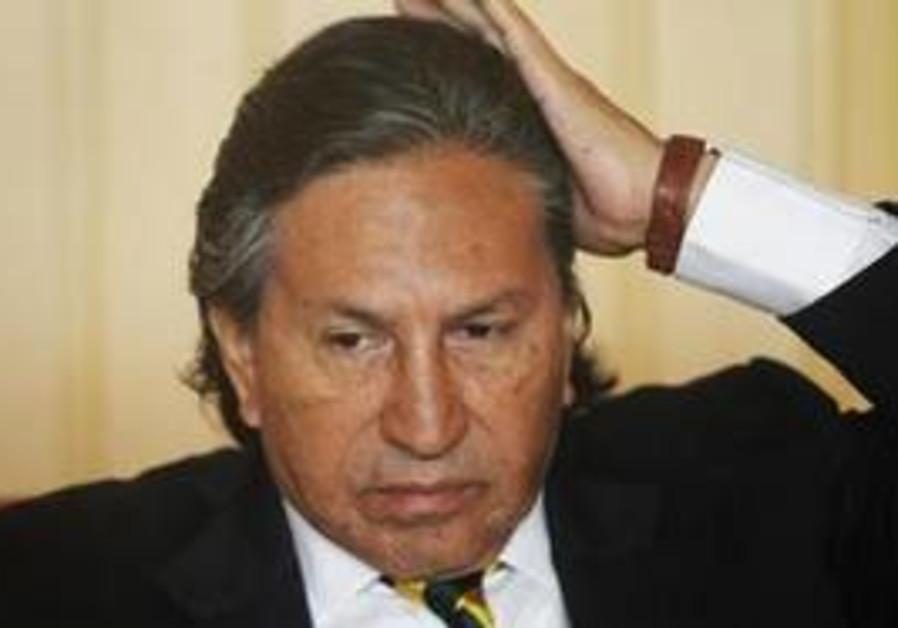 Peruvian Alejandro Toledo