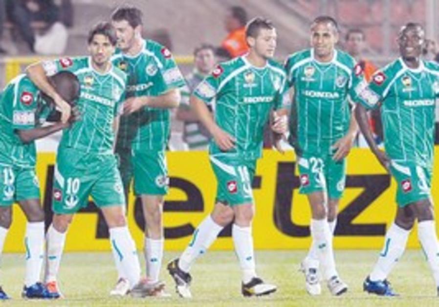 Maccabi Haifa beat Ironi Kiryat Shmona 3-2.